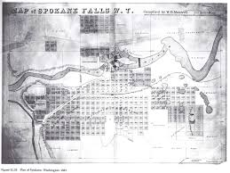 Map Of Spokane Washington The Life And Death Of Early Western Cities A Book Review Of