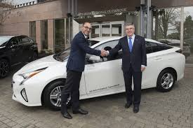 toyota delivers hybrid mobility to the international olympic