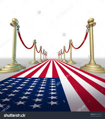 Country Star Decorations Home by American Red Blue White Carpet Hollywood Premier Grand Opening