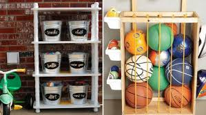 Diy Toy Storage Ideas Pinterest Inspired Diy Ideas For Organizing Outdoor Toys Today Com