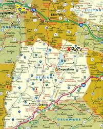 County Map Of New York State by Map Directions To Our Top Rated Cooperstown Ny Inn Landmark Inn