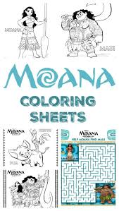 moana coloring sheets merlot mommy