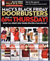 black friday 2015 macy s 56 page black friday ad leaked