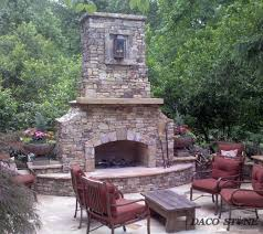 outdoor fireplace kit 48
