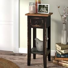 narrow bedside table narrow bedside table wayfair