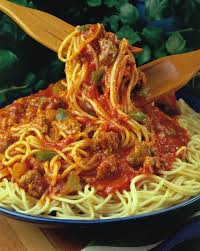 hearty spaghetti with pork pork recipes pork be inspired