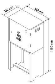 Dry Riser Cabinet Secupro