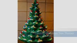 creative christmas tree themes youtube