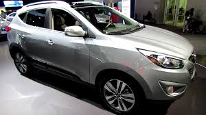 hyundai tucson 2015 interior 2014 hyundai tucson limited exterior and interior walkaround