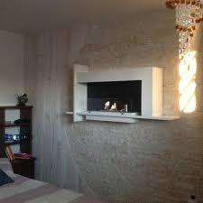 cheminee moderne design cheminée au bio éthanol murale design modern modèle baudelaire