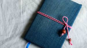 how to make a cool denim notebook cover diy crafts tutorial