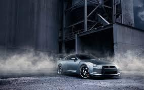 blue nissan gtr wallpaper nissan gt r r35 smoke warehouse 7021998