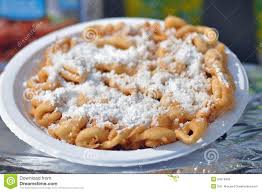 funnel cake elephant ear stock photo image 54216993