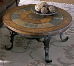 Riverside Coffee Table Round Slate Coffee Table Foter