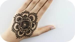 henna tutorial für anfänger blume 1 sanny kaur youtube