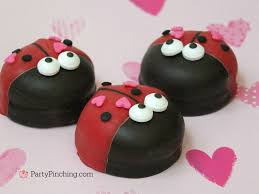 valentines day cookies bug ladybug marshmallow cookie easy dessert s day