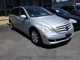 mercedes r350 2006 2006 used mercedes r350 at woodbridge auto auction va