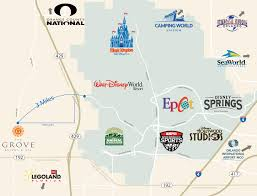 Disney World Interactive Map by The Grove Resort U0026 Spa Offers Up Free Tickets To Walt Disney World