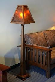 Oak Table Lamp Mica Lamps Mica Lamp Shade Street Oak Floor Lamp Inside Mission