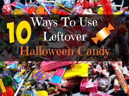 10 creative ways to use up leftover halloween candy more