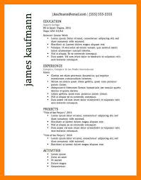 Successful Resume Templates 7 Good Resume Templates Mla Cover Page