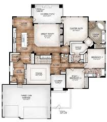 3 Bedroom Floor Plans With Garage Best 20 Unique Floor Plans Ideas On Pinterest Small Home Plans