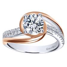gabriel and co engagement rings gabriel co bypass engagement setting