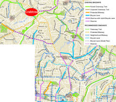 raleigh greenway map raleigh bike plan update shows us the