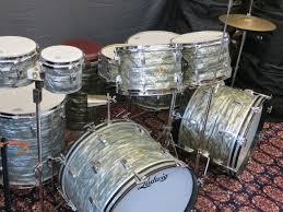 1960s ludwig blue note drum kit vintage drum source