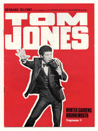 tom jones show winter gardens bournmouth uk concert programme