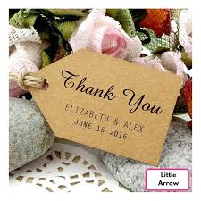 thank you favors wedding thank you favors personalized brown wedding favor thank