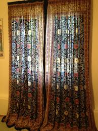 sew up quick easy and beautiful curtains from indian bedspreads