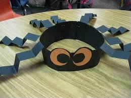 Halloween Crafts For Children by Spider Hat Craft Crafts Pinterest Spider Craft And Activities