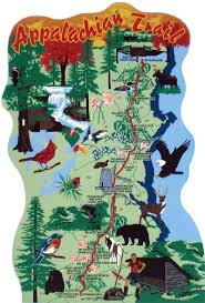 Map Of Wooster Ohio by Appalachian Trail Map The Cat U0027s Meow Village