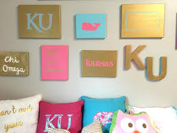preppy wall decor ideas diy for your room or dorm daily dose