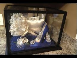 Crystal Keepsake Box Wedding Bouquet Keepsake Box Youtube