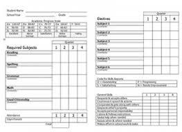 homeschool middle school report card template member benefits home school coalition thsc