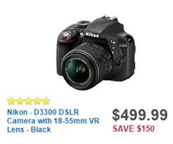 black friday deals for cameras at best buy nikon d3300 dslr camera with 18 55mm vr lens black deal at