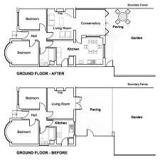ground floor extension plans unique garage loft conversion ideas selection garage design ideas