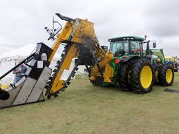 john deere 8360r with huge dk dk 628 trencher on rear real tonka