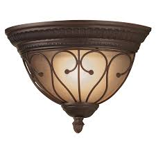 Portfolio Wall Sconce Shop Portfolio Charton Place 13 19 In W 1 Light Rubbed Bronze