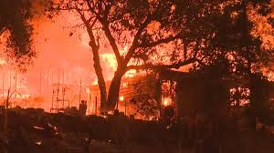 Wildfire California Video by California Wildfire Explodes To Nearly 15 000 Acres Evacuations