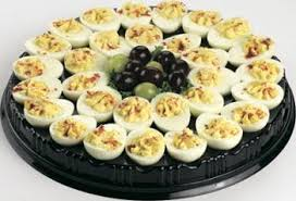 devilled egg platter deviled eggs platter serves 15 20 local delivery food platters