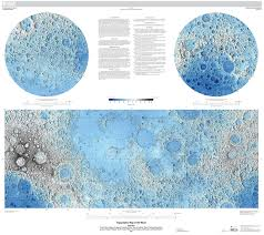 Us Relief Map Visit The Moon Without Leaving Your Desk