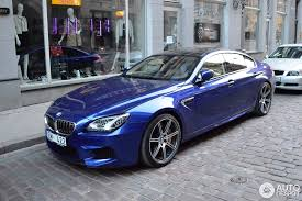 bmw m6 blue bmw m6 f06 gran coupé 22 april 2014 autogespot