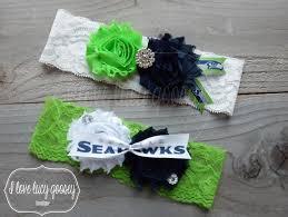 seahawk ribbon free shipping seattle seahawks ribbon inspired wedding garter set
