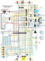 1972 honda cb350 wiring diagram 1972 honda cb450 wiring diagram on
