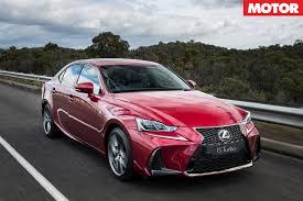 lexus sport car 2017 2017 lexus is sedan review motor