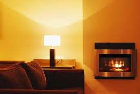 Small Electric Fireplace How To Decorate A Large Wall With A Small Electric Fireplace
