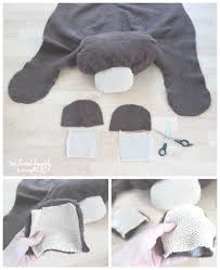 How Much Does A Bear Rug Cost We Lived Happily Ever Aftermake Your Own Bear Rug For 6 We